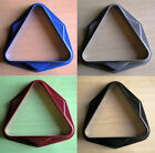Pool Table Triangles in Red, Black, Grey or Blue - Durable & Well Made UK Rack £9.99 GBP on eBay