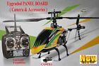 NEW UPGRADED WLTOYS V912 RC Helicopter 4 Channel, with CAMERA fixed, UK
