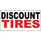 discount auto rochester ny - Discount Tires Black Red Auto Car Repair Shop DECAL STICKER Retail Store Sign