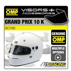 SC765 OMP GP 10K GRAND PRIX 10 K KART HELMET OPTIONAL EXTRA VISORS & ACCESSORIES