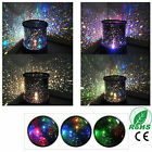 LED Cosmos Star Night Light Sky Master Projector Starry Lamp Romantic Kid Gift