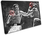 Muhammad Ali Boxing Grunge Sports SINGLE CANVAS WALL ART Picture Print