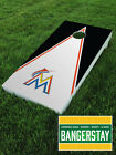 Premium Vinyl Decal Wraps (2) for Cornhole Bags Game- Florida Marlins (FM1) on Ebay
