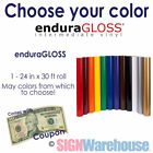 "24""x30ft EnduraGloss USA #1 Choice Sign Vinyl we also sell Oracal 631, 641, 651"