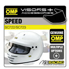 OMP SPEED HELMET OPTIONAL EXTRA VISORS & ACCESSORIES MADE BY OMP