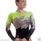 "Milano Pro Sport Gymnastic leotard 'Zaria 77244' - Sizes 26""-36"" - New"