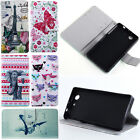 Leather Wallet Case Cover For SONY Xperia Z3 Compact / Z3 mini