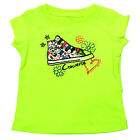 Converse Multicolour Lace Chuck Kids T-shirt - Electric Yellow All Sizes