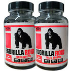 HGN Black Gorilla Roid Testo Booster 100 Kaps Human Growth Nutrition Tribu Boost