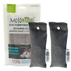 Mini MOSO NATURAL 2 Pack Air Purifying Bags, Shoe Deodorizer and Odor Eliminator