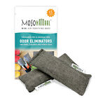 2 Pack Mini Moso Natural Air Purifying Bags, Shoe Deodorizer and Odor...