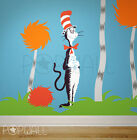 Children Wall Decals Wall Sticker Dr seuss Character Cat in the Hat for nursery