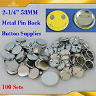 "12 Kinds Button Supplies for 2-1/4""(58mm) Badge Button Maker Machine"