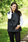 Unisex Wax Padded Bodywarmer Genuine Bronte Branded Cupra Dry Wax