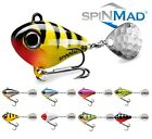 Spinning Tail SpinMad JIGMASTER 8g Lure Fishing Jig Spinner Spinnerbait Perch UL
