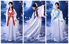 Chinese Traditional Ancient Costume Infanta Dramaturgic Theatrical Play Dress
