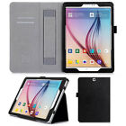 Luxury PU Leather Card Flip Stand Case Handheld Cover For Samsung Galaxy Tab S2