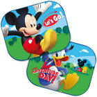 2 x Disney Car 44x35cm UV Sun Shade Baby Children Kids Window Visor CARS FROZEN
