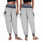 Stella Morgan Designer Womens Harem Pants Ladies Patterned Joggers Boho Leggings