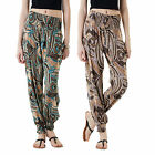 Stella Morgan Designer Womens Patterned Trouser Ladies Yoga Leggings Boho Harems