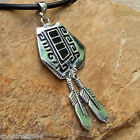 Ancient Hieroglyphic Writing Indian Native American Magic Amulet Tribal Talisman