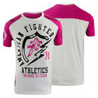 American Fighter Flashpoint Artisan T-Shirt (White/Fuscia Pink)