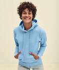 62116 Fruit Of The Loom Lady-Fit Sweat Jacket All Colours and Size S-2XL