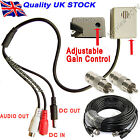 CCTV Microphone kit adjustable Wide 30m Range Mic for CCTV DVR NVR DIY KIT