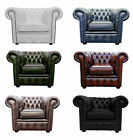Vintage Chesterfield Club Armchair Available In Six Colours