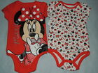 DISNEY MINNIE MOUSE BABY ONE PIECE SIZE 3/6 MONTHS NEW!