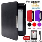 Ultra Slim Magnetic PU Leather Stand Case Cover For Amazon Kindle Paper White UK