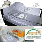 LUXURY EMBROIDERED 2-6el BABY BEDDING SET 120x90 135x100 for COT BED Child COALA