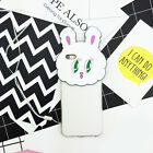 Cute 3D Cartoon Funny Rabbit Silicone Soft Case Cover For iPone 6 6S 6SPlus