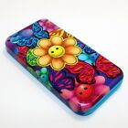 For Apple iPhone 4 / 4s Hybrid 2-in-1 Phone Cover Case Sunflower & Butterflies