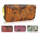 New Womens Patent Leather Designer Zip Wallet Ladies Coin Purse Card Holder Bag