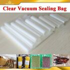 New 100pcs Clear Vacuum Sealing Bag Pouches Packaging Food Fresh Saver