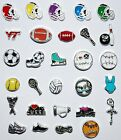 Floating Charms Sports Football Memory Lockets Living Baseball Dance Golf Soccer