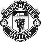 Wall Art Sticker Manchester United Football Vinyl Wall Decal