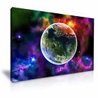 SPACE 8 Abstract Canvas Framed Printed Wall Art - 9 Size to Choose