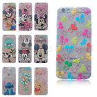 Cutie Series Disney Mickey Transparent Soft TPU Case Cover For iPhone 6s 6s Plus