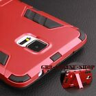 Hybrid Armor Kickstand Shockproof Hard Back Case Cover For iPhone Sumsung Galaxy