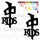 "2 of 5"" RDS /A snowboard car truck window bumper stickers decals"