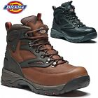 MENS DICKIES WATERPROOF LEATHER SAFETY WORK HIKER BOOTS SHOES STEEL TOE CAP SIZE