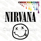 "1 of 5"" to 20"" Nirvana Stoner Smiley Face /A artist car wall stickers decals"