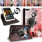 For Amazon Kindle Fire HDX 7 Inch 2013 PU Leather 360 Rotating Stand Case Cover