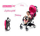 Small Mini Baby Stroller Travel System Pushchair infant carriage one-key fold