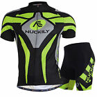 Men's Outdoor Sports Bike Cycling Bicycle Short Sleeve Jersey Padded Sets Shorts