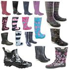Kyпить LADIES WOMENS WELLIES Wellington Boots SUMMER FESTIVAL FASHION SIZE 3 4 5 6 7 8 на еВаy.соm