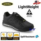 Womens Black Work Shoe Slip Resistant Spill Resistant non marking shoes
