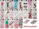 Ultra Slim Flexible Skin Pattern Tpu Soft Cover Case For Apple Ipod Touch 5/ 6
